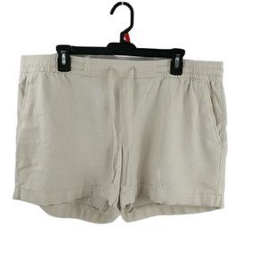 Old Navy Shorts with Drawstring and Pockets Tan